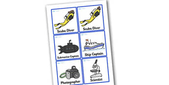 Deep Sea Explorer Role Play Badges - deep sea explorer, role play, badges, deep sea explorer badges, role play badges, badges for deep sea explorer