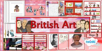PlanIt - Art LKS2 - British Art Unit: Additional Resources