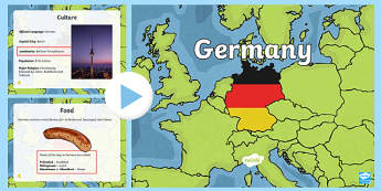 Germany Information PowerPoint - germany, germany powerpoint, info about germany, germany information powerpoint, places, around the world, countries, ks2