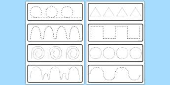 Pencil Control Activity Cards - pencil control, activity, cards