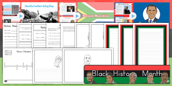 Black History Month Resource Pack - usa, black history, history, significant people, famous people, civil rights, rights