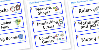 Welcome to our class - Teddy Bear Themed Editable Maths Area Resource Labels - Themed maths resource labels, maths area resources, Label template, Resource Label, Name Labels, Editable Labels, Drawer Labels, KS1 Labels, Foundation Labels, Foundation