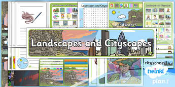 PlanIt - Art and Design KS1 - Landscapes and Cityscapes Unit Additional Resources