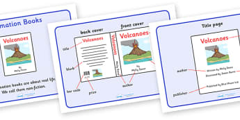 Information Book Display Posters - information book, book, display, posters, sign, non-fiction, giving information, objective, content, chapter