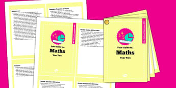 2014 Curriculum Cards Year 2 Maths - new curriculum, plans, card