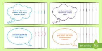 I Can... Literacy Statements for the Foundation Phase Display Pack - LNF Statements, LNF Display in Foundation Phase.