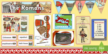 Romans Display Pack - Display Packs, Romans, history, display, Ancient Rome, civilization, KS2, discove