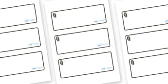 Monkey Themed Editable Drawer-Peg-Name Labels (Blank) - Themed Classroom Label Templates, Resource Labels, Name Labels, Editable Labels, Drawer Labels, Coat Peg Labels, Peg Label, KS1 Labels, Foundation Labels, Foundation Stage Labels, Teaching Label