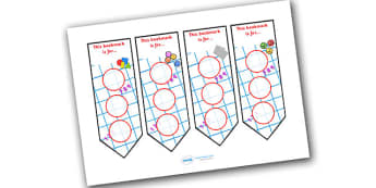 Numeracy Themed Sticker Reward Bookmark 30mm - bookmarks, bookmark, reward bookmark, numeracy reward bookmark, numeracy sticker bookmark, numeracy, 30mm