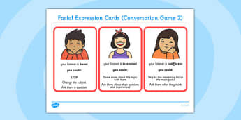 Conversation Game: Expression Cards - conversation game, cards