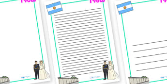 1980s Page Borders - 1980s, page border, border, writing template, writing aid, writing, 80s, Prince William, Prince Harry, Berlin wall, fall of the Berlin wall
