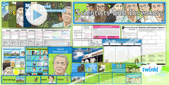 PlanIt - Science Year 5 - Scientists and Inventors Unit Pack - planit, science, year 5, scientists and inventors, unit pack