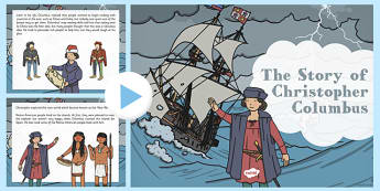 The Story Of Christopher Columbus PowerPoint - significant individuals