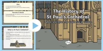 KS1 St Paul's Cathedral PowerPoint