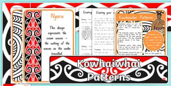 Kowhaiwhai Patterns Display Resources Pack