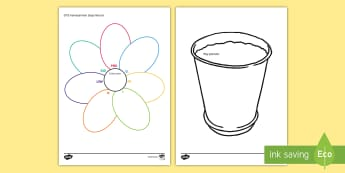 EYFS Individual Next Steps Record Flower Pot Themed  - EYFS Assessment Resources, EYFS, Early Years, Nursery, Reception, targets, assessments, progress, pr