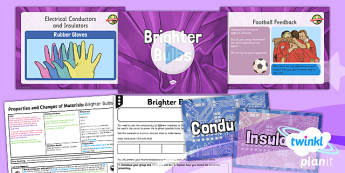 PlanIt Science Year 5 Properties And Changes Of Materials Lesson 3 Brighter Bulbs Lesson Pack - science, year 5, materials, topic, planning, resources, unit, opaque, transparent, hard, soft, rough, smooth, dissolving, solids, liquids, gases