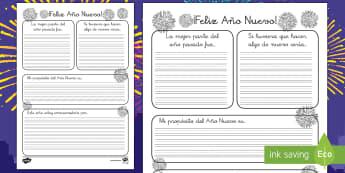 Pautas: Mi propósito de Año Nuevo - pautas, escritura, año nuevo, Nochevieja, propósitos, proposito de año nuevo, Spanish