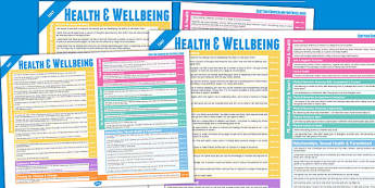 Scottish Curriculum Excellence Overview Posters Early Health