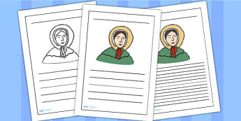 Mary Anning Writing Frame - mary anning, writing frame, writing template, writing guide, writing aid, line guide, writing guide, themed writing aid, aids
