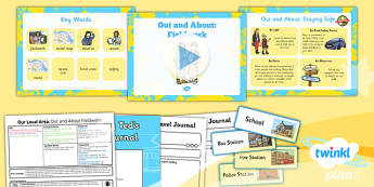 PlanIt - Geography Year 1 - Our Local Area Lesson 2: Out and About Fieldwork Lesson Pack