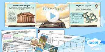 PlanIt - History KS2 - Ancient Greece Lesson 5: Gods and Goddesses Lesson Pack