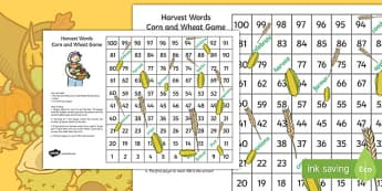 Harvest Corn and Wheat Game