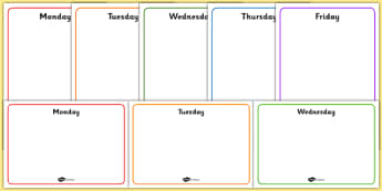 Daily Plan Posters - daily plan, posters, display, plan, daily