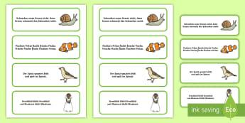 Frühlings-Zungenbrecher Teil 2 Memory Karten - Frühling, Jahreszeit, Kl.1/2, Vorschule, Sprache, Zungenbrecher, spring, seasons, EYFS/KS1, languag