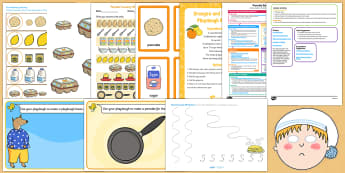 Childminder Pancake Day Activity Web and Resource Pack - Shrove Tuesday, pancake day, childminder
