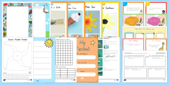 Summer End of School Year Senior Primary Activity Pack