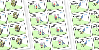 Horse Chestnut Tree Themed Editable Book Labels - Themed Book label, label, subject labels, exercise book, workbook labels, textbook labels