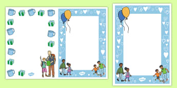 Editable Fathers day Card Inserts - Editable Father's Day Card Insert Template - editable, father's day, dad, father, card, insert, te