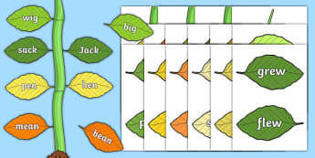 Jack And The Beanstalk Rhyming Game - games, activities, activity