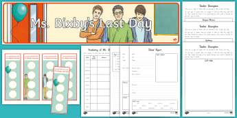 Years 5 and 6 Chapter Chat to Page 48 Resource Pack to Support Teaching on Ms. Bixby's Last Day - New Zealand Chapter Chat, Chapter Chat NZ, Chapter Chat