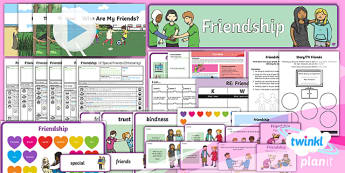 PlanIt - RE Year 1 - Friendship Unit Pack - RE, Friendship, religion, religious, friend, relationship, bible, story, stories, deer and the crow,