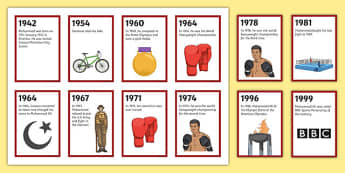 Muhammad Ali Flashcards
