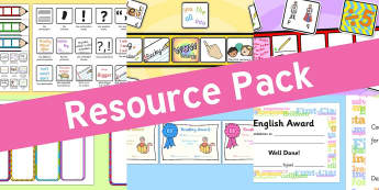 Resource pack preview for literacy-certificates-and-awards