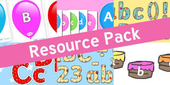 Resource pack preview for birthdays-alphabet-display-resources