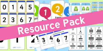 Resource pack preview for counting-flashcards