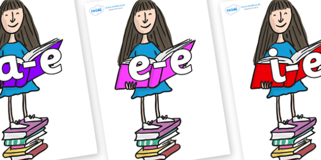 Modifying E Letters on Matilda to Support Teaching on Matilda - Modifying E, letters, modify, Phase 5, Phase five, alternative spellings for phonemes, DfES letters and Sounds