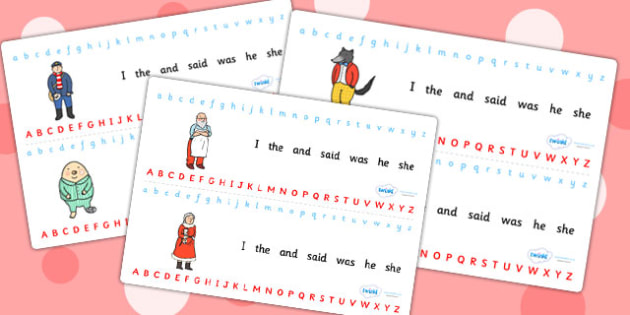 Alphabet Strips to Support Teaching on The Jolly Christmas Postman - the jolly christmas postman, alphabet strips, the jolly postman alphabet strip, christmas alphabet strip