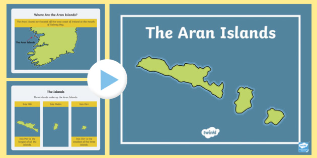 The Aran Islands PowerPoint-Irish