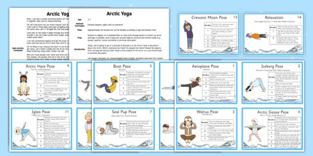 Arctic Yoga Story - arctic, yoga, story, yoga story, activity, polar region