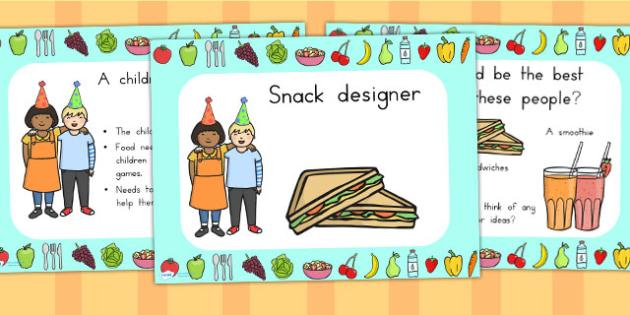 Snack Design PowerPoint - food, snacks, healthy eating, eat