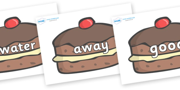 Next 200 Common Words on Chocolate Buns - Next 200 Common Words on  - DfES Letters and Sounds, Letters and Sounds, Letters and sounds words, Common words, 200 common words
