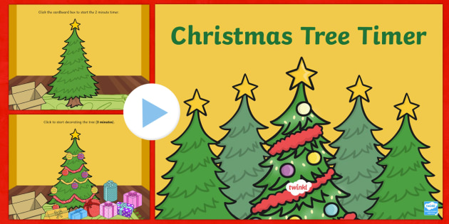 Christmas Tree Timer PowerPoint
