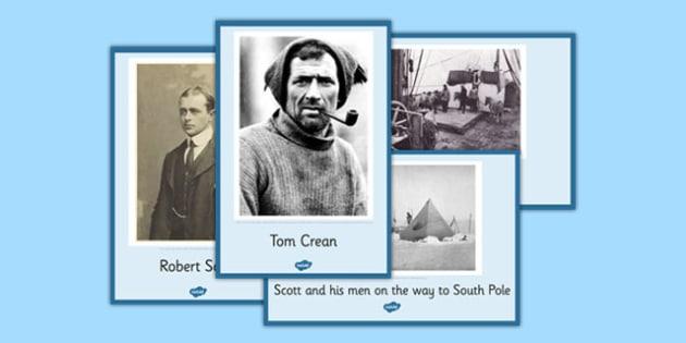 Tom Crean Display Posters - Tom Crean, Irish History, South Pole, Antarctica, display, photo pack, posters