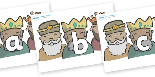 Phoneme Set on Three Kings - Phoneme set, phonemes, phoneme, Letters and Sounds, DfES, display, Phase 1, Phase 2, Phase 3, Phase 5, Foundation, Literacy
