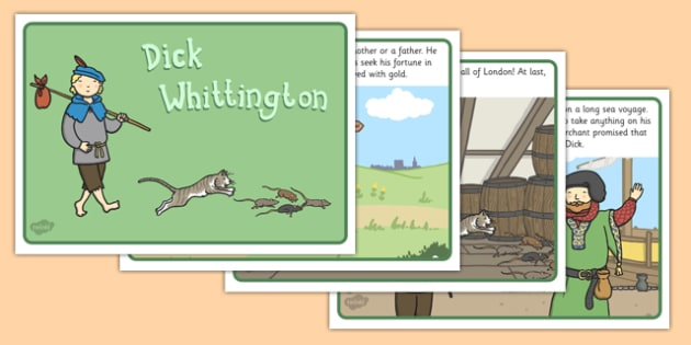 Dick Whittington Story - Dick, Whittington, Story, Tale, Cat